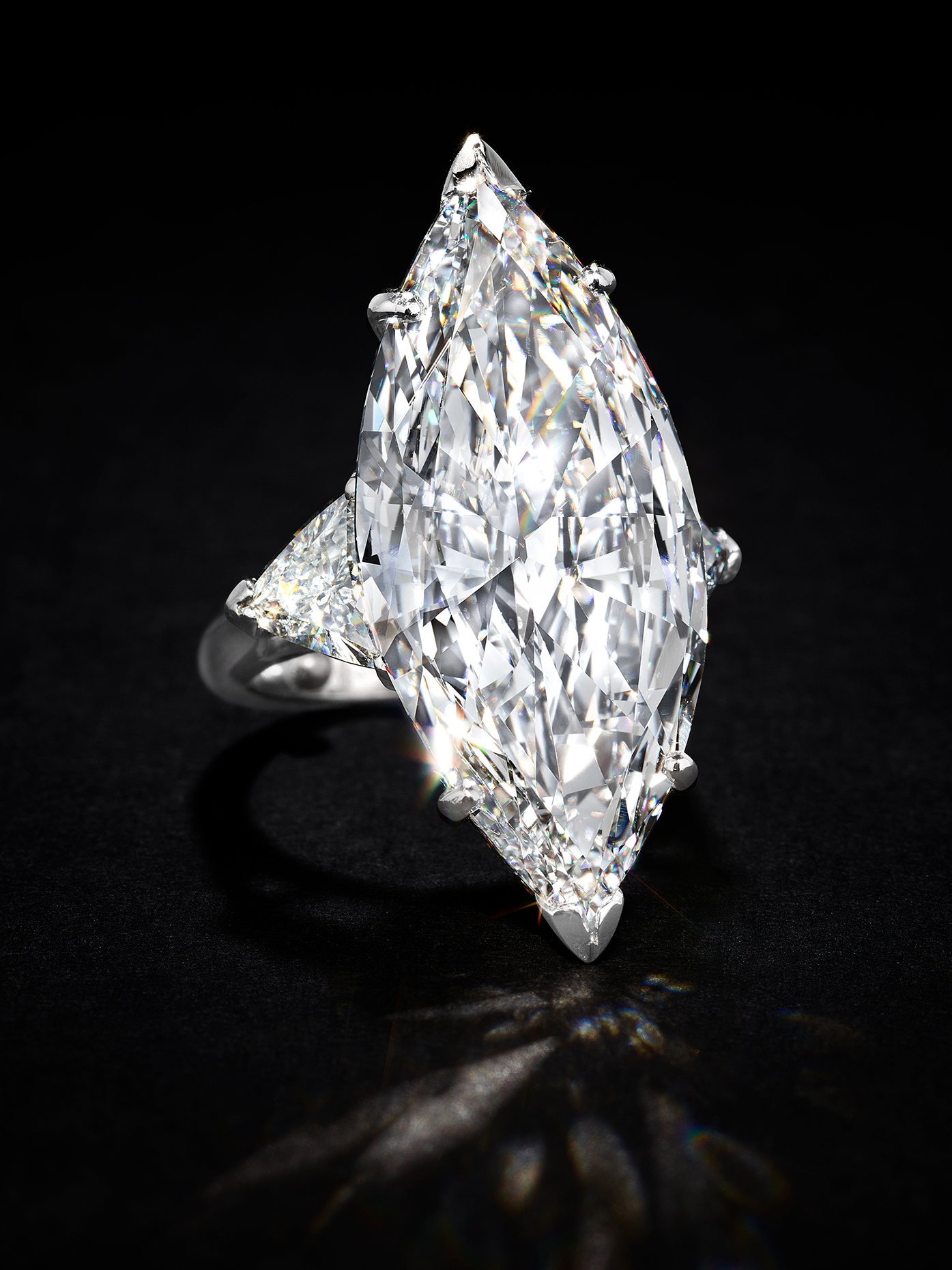 Marquise Sparkle Ring